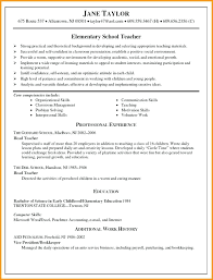 Educational Resumes High School Teachers Elementary Teacher Administration