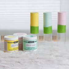 Americana Decor Chalky Finish Paint Colors by Bright Pastel Paint Dipped Vases Project By Decoart