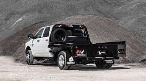 truck beds by bedrock heavy duty steel flatbeds