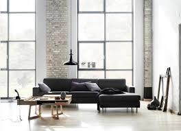 weiße wände möbel in schwarz treffen auf weiße wände