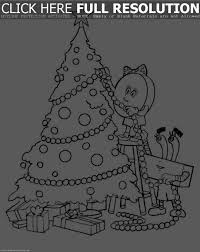Big Christmas Tree Coloring Pages Printable by Photo Of Sparsely Decorated Christmas Tree Free Images More Idolza