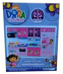 Dora The Explorer Kitchen Set by Shop U0026 Shoppee Dora The Explorer Doll And Kitchen Set Multicolor