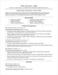 Cna Resume Examples Example Resumes And Cover