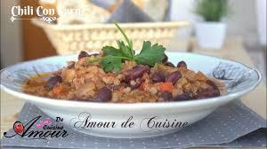 la cuisine de soulef chili con carne recette piquante à la viande hachée et haricots