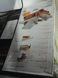ridgid portable 7 tile saw tools machinery in redlands