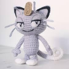 Alola Meowth Amigurumi Pattern Amigurumi Pinterest Crochet