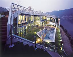 Architectural Island House In South Korea   IDesignArch   Interior ... South Korea Managing The University Campus Unusual Island House In Korea By Iroje Khm Architects Home Reviews Korean Interior Design That Can Be A Great Choice For Your Unique Mountainside Seoul South 100 Style Old Homes Pixilated Architecture Modern In Exterior Apartment Apartments Yongsan Decor On Cool New Planning Splendid Ideas Tropical With Seen From The Back Architectural Idesignarch Luxury