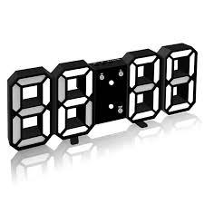 hause wohnzimmer dekoration 3d led wanduhr moderne design digitale tisch uhr alarm nachtlicht uhr uhr