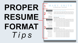 Proper Resume Format - Resume Formatting Tips - Youtube ... Heres The Resume That Got Me Hired Full Stack Web Development 2018 Youtube Cover Letter Template Sample Cover Letter How To Make Resume Anjinhob A Creative In Microsoft Word Create A Professional Retail And Complete Guide 20 Examples Casey Neistats Filmmaker Example Enhancv Ad Infographic Marketing Format Download On Error Next 13 Vbscript Professional Video Shelly Bedtime Indukresuoneway2me