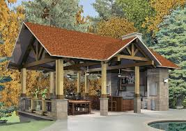 Harmonious Pool Pavilion Plans by Pool Pavilion Woodstock Wjm Designs Building Plans
