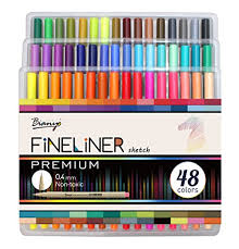 The Fineliner Art Markers Set From Bianyo Are One Of Best Available Within Current Market For Adult Coloring Books