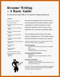 Little Experience Awesome Resume Examples For Restaurant Jobs Best Consulting Related Post