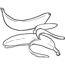 Coloriage Des Aliments La Banane Jeux Et Outils Fondation OLO