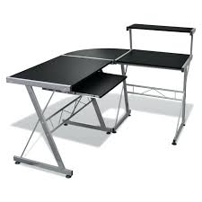 bureau angle noir grand bureau d angle bureau dangle noir grand bureau dangle