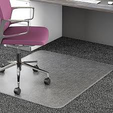 Plastic Floor Covering Roll Awesome Realspace 35percent Recycled All Pile Studded Chair Mat 36 X 48