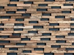Revestimiento de pared 3D de madera para exterior TRAIN By