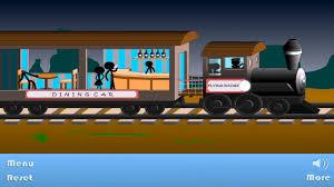stickman stick death train level 1 walkthrough youtube