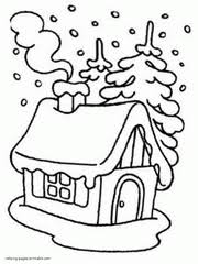 Winter Colouring Pages For Kids Printable