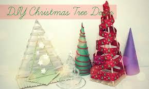 Tabletop Live Christmas Trees by Diy Christmas Trees Festival Desk Decor Popsicle Stick Diy