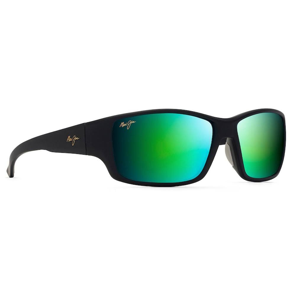 Maui Jim Local Kine Men's Sunglasses - Soft Black/ Transparent Green