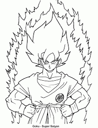 Dragon Ball Z Coloring Free Printable Page Ad9