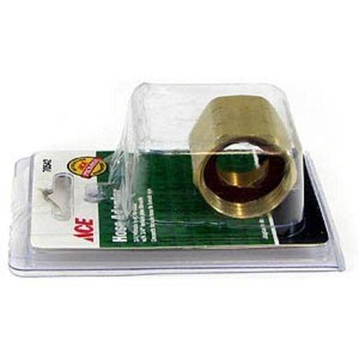 Ace Brass Hose Adapter - 3/4""