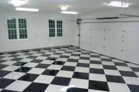 garage floor checkered tiles epoxy coated garage floor tile floor