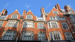 100 Victorian Property LONDON UK Red Brick Houses Facades In Mount Street