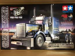 Grand Hauler Matte Black Edition Semi Truck Kit RC Tamiya 56356 | EBay