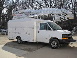 Aerial Bucket Trucks - Lift Equipment - Truck Utilities