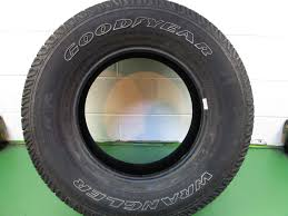 2 Goodyear Wrangler Sr-a 255/75r17 113s Tire 84788 QWK | EBay