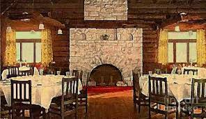dining room in the el tovar grand canyon lodge around 1910