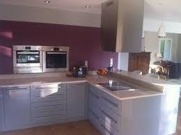 cuisine plan de travail gris ophrey com cuisine gris et plan de travail bois prélèvement d