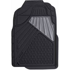 Go Gear Heavy Duty Rubber Mat Full Truck Black 2-Piece Set - Walmart.com