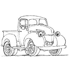 Trucks Coloring Pages Kids Fire Truck Sheets Old Cars And Logo
