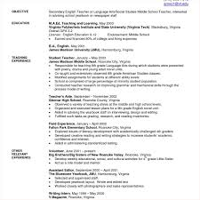 Resume For High School Students Template Teacher Resume Template