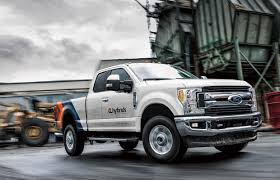 This F-250 Is The First Hybrid Heavy-duty Ford Pickup | Driving