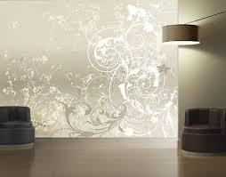 ornament tapete schlafzimmer farbgestaltung im schlafzimmer