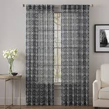 Sheer Curtain Panels 108 Inches by Buy 108 Sheer Curtain Panels From Bed Bath U0026 Beyond