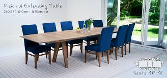 Table Seating Guide Bespoke Walnut Vision A Dining