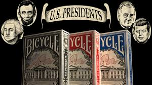 Set Decorators Society Of America President by Bicycle Us Presidents Playing Cards By Collectable Playing Cards