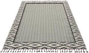 teppich frida grün material jute polypropylen gemustert strapazierfähig