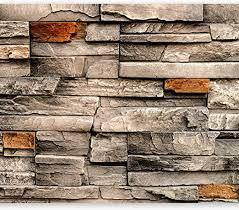 fototapeten steinwand 3d effekt 352 x 250 cm vlies wand