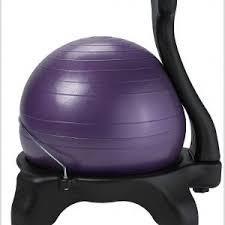 gaiam balance ball chair replacement ball chairs home