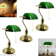Bankers Lamp Green Glass Shade by Bankers Lamp Green Vintage Portable Desk Lamp Green Shade Desk