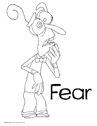Coloring Pages For Inside Out Pa