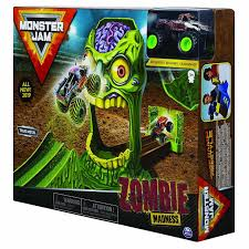 100 Monster Jam Toy Truck Videos 6045029 Stunt Playsets 164 Assorted Colours