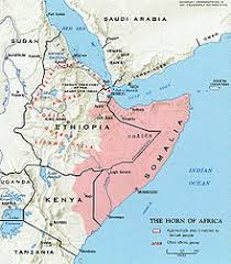 Traditional Area Inhabited By The Somali Ethnic Group