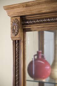 Pulaski Oak Corner Curio Cabinet by Amazon Com Pulaski Two Way Sliding Door Curio 43 By 17 By 80
