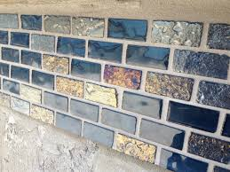 day 64 glass tile part 2 grout grouting glass tile cooneys